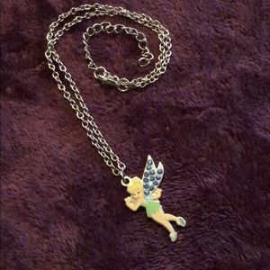 Disney tinker bell necklace